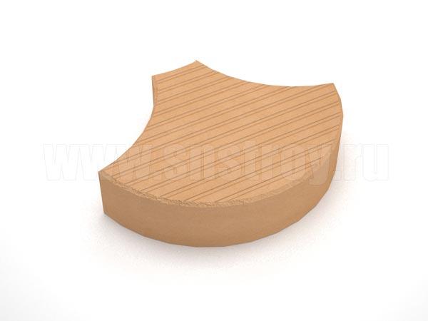 плитка чешуя оранжевая