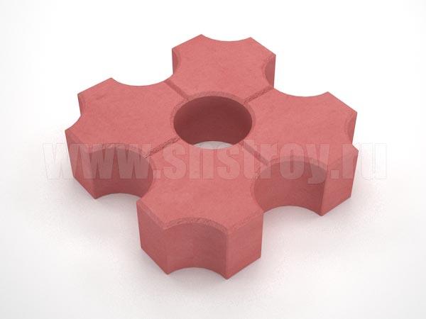 плитка эко красная