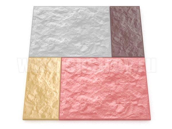 фасадная плитка цветная
