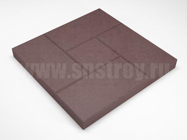 плитка калифорния коричневая