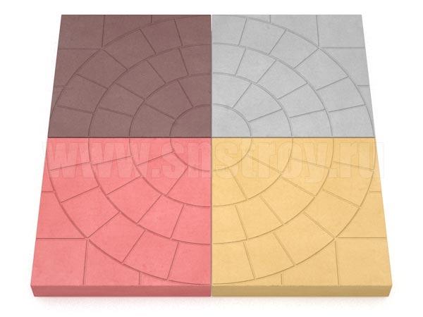 плитка паутина-35 цветная
