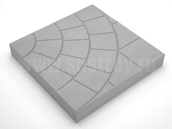 плитка паутина-35 серая